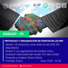 Protocolo y organización de eventos en las RRII
