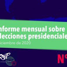 Elecciones en diciembre de 2020