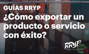Cómo exportar un producto