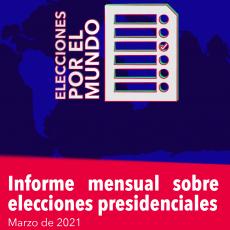Elecciones en marzo a nivel global