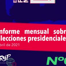 Elecciones en abril 2021 a nivel global